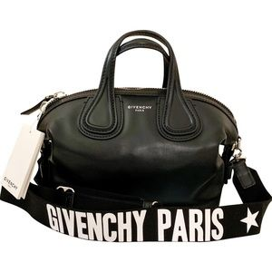 NWT Givenchy Micro Nightingale Satchel Logo Strap